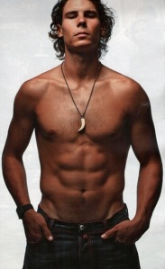 Rafa is The only reason I watch tennis :-)