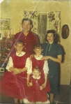 Dad, Mom, my sisters and Me. I'm the little one!