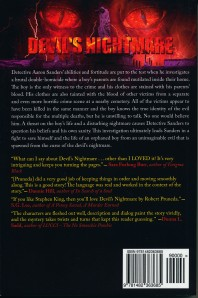 Devil's Nightmare Back Cover